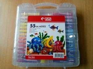 Katalog Grosir Titi Krayon Minyak 55 Warna Crayon 55 Colors Oil Pastels Katalog.or.id