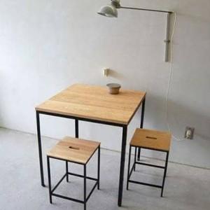 Harga meja cafe set dengan kursi nya untuk rumah makan coffe shop | HARGALOKA.COM