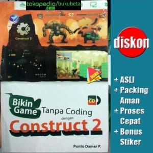 Harga bikin game tanpa coding dengan construct 2   punto | HARGALOKA.COM