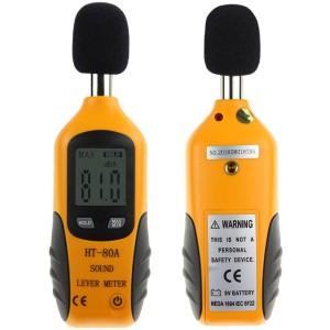 Harga digital sound noise level meter alat ukur intensitas suara | HARGALOKA.COM