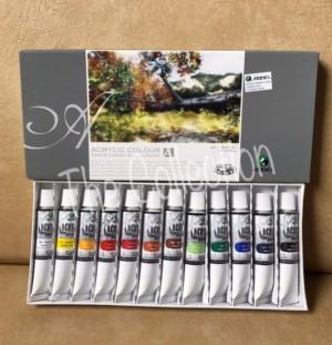 Info Maries Acrylic Color Set 12 Katalog.or.id