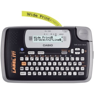 Harga alat mesin label printer casio kl 120 label | HARGALOKA.COM