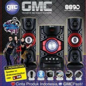 Harga speaker gmc 889b dan d bluetooth gabung | HARGALOKA.COM