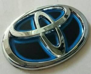 Harga emblem logo toyota calya crome | HARGALOKA.COM