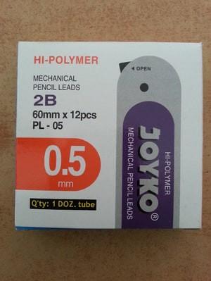 Harga grosir joyko pl 05 isi pensil mekanik 2b 0 5 mechanical pencil | HARGALOKA.COM