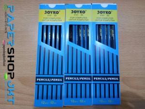 Harga pensil kayu 2b joyko 6161 murah grosir   HARGALOKA.COM
