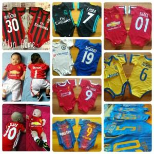 Harga jersey bola bayi jumper bola baju bola anak   jumpsuit | HARGALOKA.COM