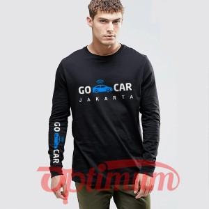 Harga tshirt kaos baju lengan panjang gocar co car custom nama kota | HARGALOKA.COM