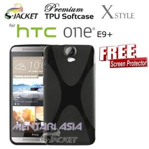 Harga softcase for htc one e9 plus s jacket premium x style tpu free sp   HARGALOKA.COM