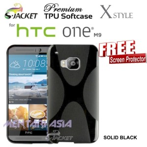 Harga softcase for htc one m9 s jacket premium x style tpu free sp   HARGALOKA.COM