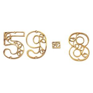 Harga 2cm symbol kantor alamat ruko hotel kost daun ukir kuningan   | HARGALOKA.COM