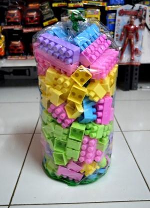 Harga lego blok kreasi ukuran besar isi 176 | HARGALOKA.COM
