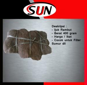 Harga ijuk rambut resapan filter sumur bor per | HARGALOKA.COM