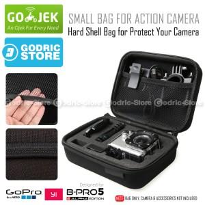 Harga action cam small size bag tas case for sj4000 xiaomi yi amp gopro 3 | HARGALOKA.COM