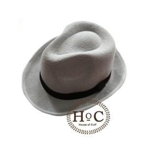 Harga houseofcuff topi fedora hat grey fedora hat | HARGALOKA.COM