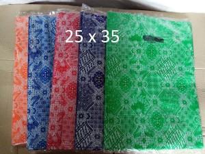 Harga hd oval 25x35 kantong plastik baju shopping bag plastik online | HARGALOKA.COM