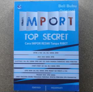 Harga buku import top secret cara impor resmi tanpa   HARGALOKA.COM