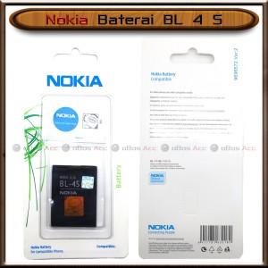 Harga baterai nokia 2680 3600 slide 3710 fold bl4s bl 4s bl 4 s ori   HARGALOKA.COM
