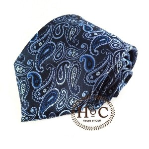 Harga houseofcuff dasi necktie motif wedding best man blue black batik tie   2 | HARGALOKA.COM