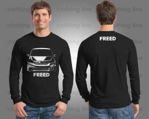 Harga kaos baju mobil honda freed siluet lengan | HARGALOKA.COM