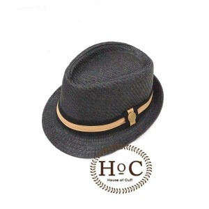 Harga topi fedora panama hat jazz koboy hat topi pantai listed button   | HARGALOKA.COM