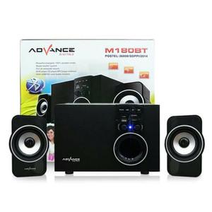 Harga speaker advance m 180 bt super bass high | HARGALOKA.COM