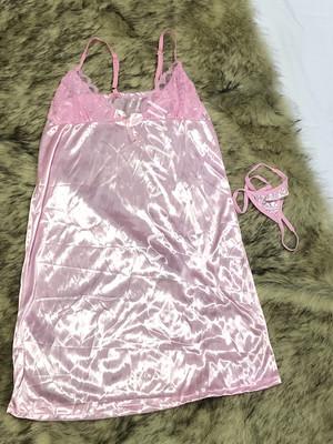 Harga elsa sexy lingerie babydoll set g string pink baju tidur   HARGALOKA.COM