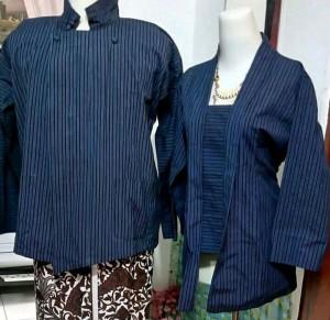 Harga baju adat jawa surjan dan kebaya lurik alusan ukuran | HARGALOKA.COM