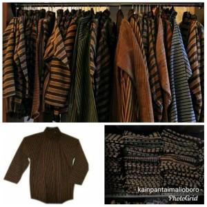 Harga surjan pakaian adat jawa baju lurik baju dalang baju | HARGALOKA.COM