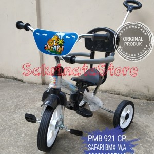 Harga mainan anak sepeda roda 3 pmb bmx 921 cp pernekel khusus | HARGALOKA.COM