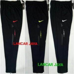 Harga celana olahraga slimfit nike training panjang running   grw   xl hitam | HARGALOKA.COM