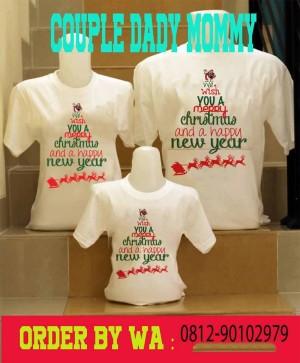 Harga kaos baju natal couple | HARGALOKA.COM