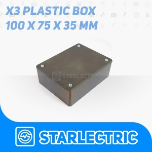 Harga box hitam x3 kotak plastik casing komponen | HARGALOKA.COM