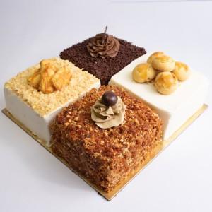 Harga quatre cake   nastar kastengel chocolate amp mocha nougat | HARGALOKA.COM