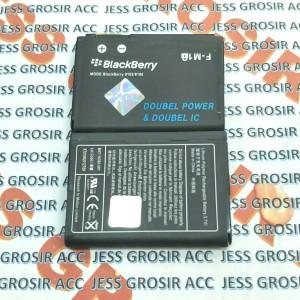 Harga baterai battery double power blackberry bb fm1 f m1 pearl 9100 | HARGALOKA.COM