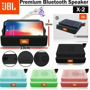 Harga speaker speker bluetooth wireless stereo jbl stage x2 phone stand dual   | HARGALOKA.COM