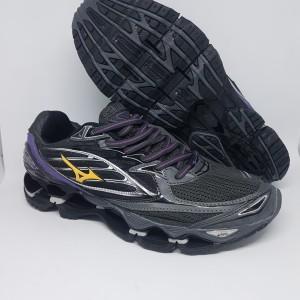 Harga sepatu volly mizuno wave prophecy 6 black purple | HARGALOKA.COM
