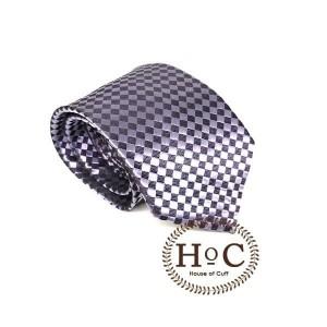 Harga neckt tie dasi motif slim fit square dark grey silver neck tie   2 | HARGALOKA.COM