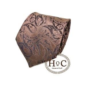Harga neckt tie dasi motif slim fit houseofcuff brown batik paisley tie   2 | HARGALOKA.COM