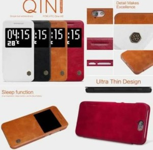 Harga flipcase flipcover nillkin qin leather case htc one | HARGALOKA.COM