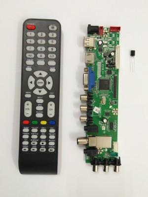 Harga universal lcd led tv main board mesin dtv tv digital signal dvb t2 | HARGALOKA.COM