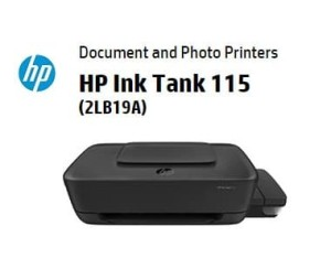 Harga printer hp ink tank 115 2lb19a print only a4 garansi | HARGALOKA.COM