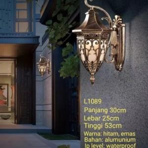Harga l1089 lampu dinding aluminium taman hias pagar waterproof   HARGALOKA.COM