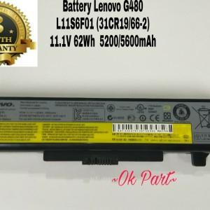 Harga baterai laptop original lenovo ideapad g480 g485 b480 b485 y480 | HARGALOKA.COM