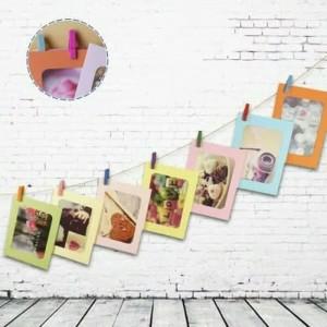 Harga korean photo frame 4r   bingkai foto gantung dilengkapi tali dan | HARGALOKA.COM