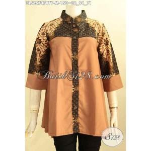 Harga model baju batik blouse solo wanita muda kekinian size m | HARGALOKA.COM