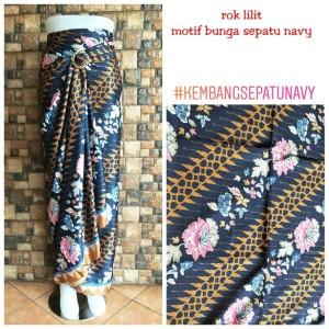 Harga rok lilit batik kembang sepatu | HARGALOKA.COM