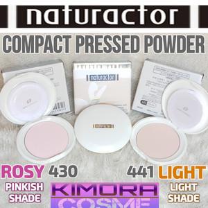 Harga naturactor compact pressed powder bedak padat     HARGALOKA.COM