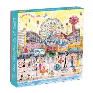 Harga galison puzzle 500 pieces 34 summer at the amusement park 34 | HARGALOKA.COM