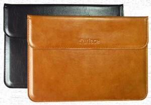 Harga new microsoft surface pro 7 2019 leather pouch kulit cover | HARGALOKA.COM